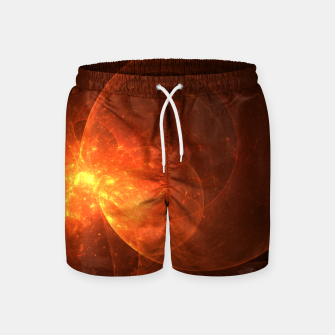 Thumbnail image of Blood Orange Swim Shorts, Live Heroes