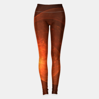 Thumbnail image of Blood Orange Leggings, Live Heroes