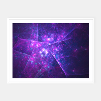 Thumbnail image of Chaotic Light Framed poster, Live Heroes