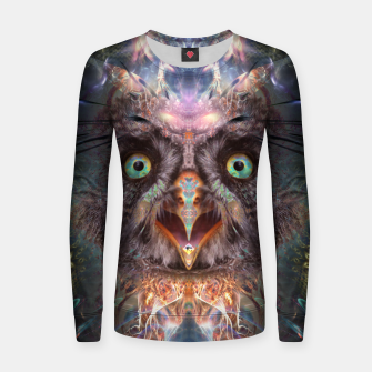 Complete Awareness (Owl) Women sweater thumbnail image