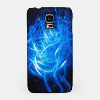 Thumbnail image of Abstract Blue Light Effect Samsung Case, Live Heroes