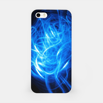 Thumbnail image of Abstract Blue Light Effect iPhone Case, Live Heroes