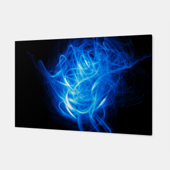 Thumbnail image of Abstract Blue Light Effect Canvas, Live Heroes