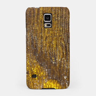 Thumbnail image of Gold Abstract Sparkly Design Samsung Case, Live Heroes