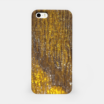Thumbnail image of Gold Abstract Sparkly Design iPhone Case, Live Heroes
