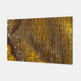 Thumbnail image of Gold Abstract Sparkly Design Canvas, Live Heroes