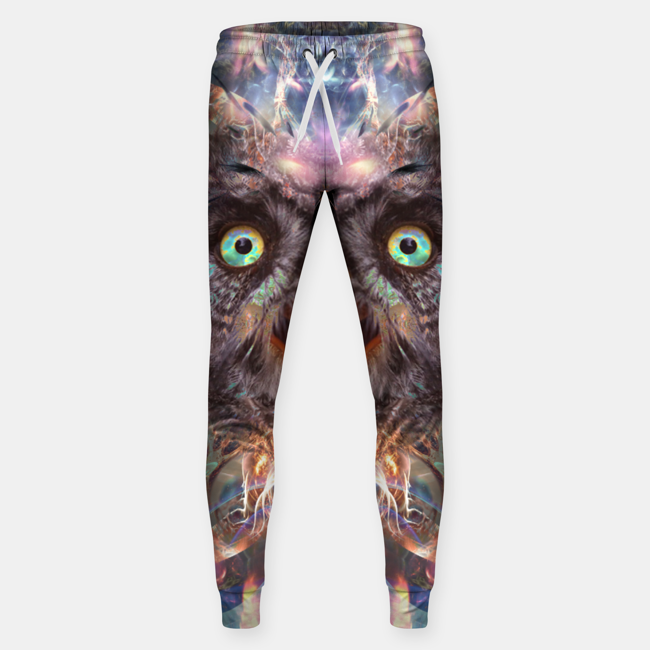Image of Complete Awareness (Owl) Sweatpants - Live Heroes