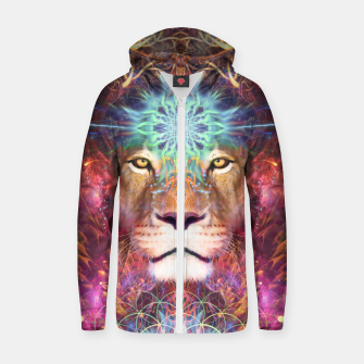 Genesis (Lion) Zip up hoodie thumbnail image