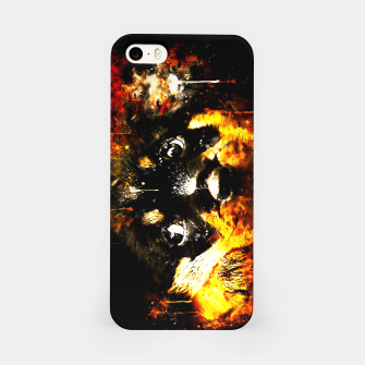 rottweiler puppy dog ws std iPhone Case thumbnail image