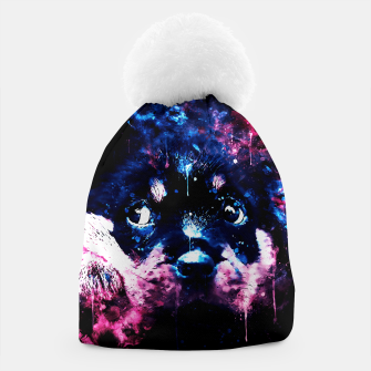 rottweiler puppy dog ws c80 Beanie thumbnail image