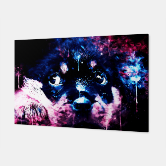 rottweiler puppy dog ws c80 Canvas thumbnail image