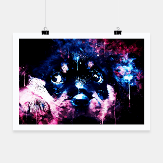 rottweiler puppy dog ws c80 Poster thumbnail image