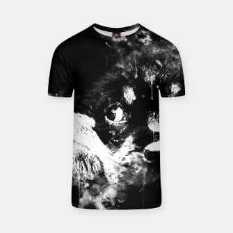 rottweiler puppy dog ws bw T-shirt thumbnail image