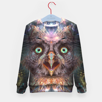 Complete Awareness (Owl) Kid's sweater thumbnail image