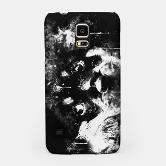 rottweiler puppy dog ws bw Samsung Case thumbnail image