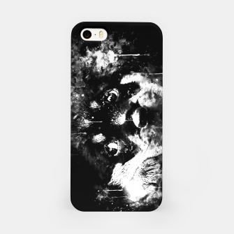 rottweiler puppy dog ws bw iPhone Case thumbnail image