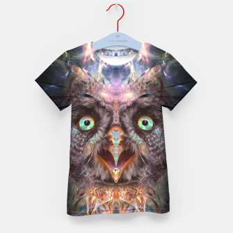 Complete Awareness (Owl) Kid's t-shirt thumbnail image