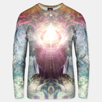 Thumbnail image of Celestial Vibrations Unisex sweater, Live Heroes