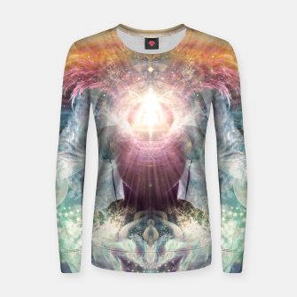 Thumbnail image of Celestial Vibrations Women sweater, Live Heroes