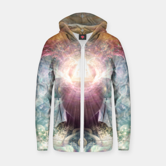 Thumbnail image of Celestial Vibrations Zip up hoodie, Live Heroes
