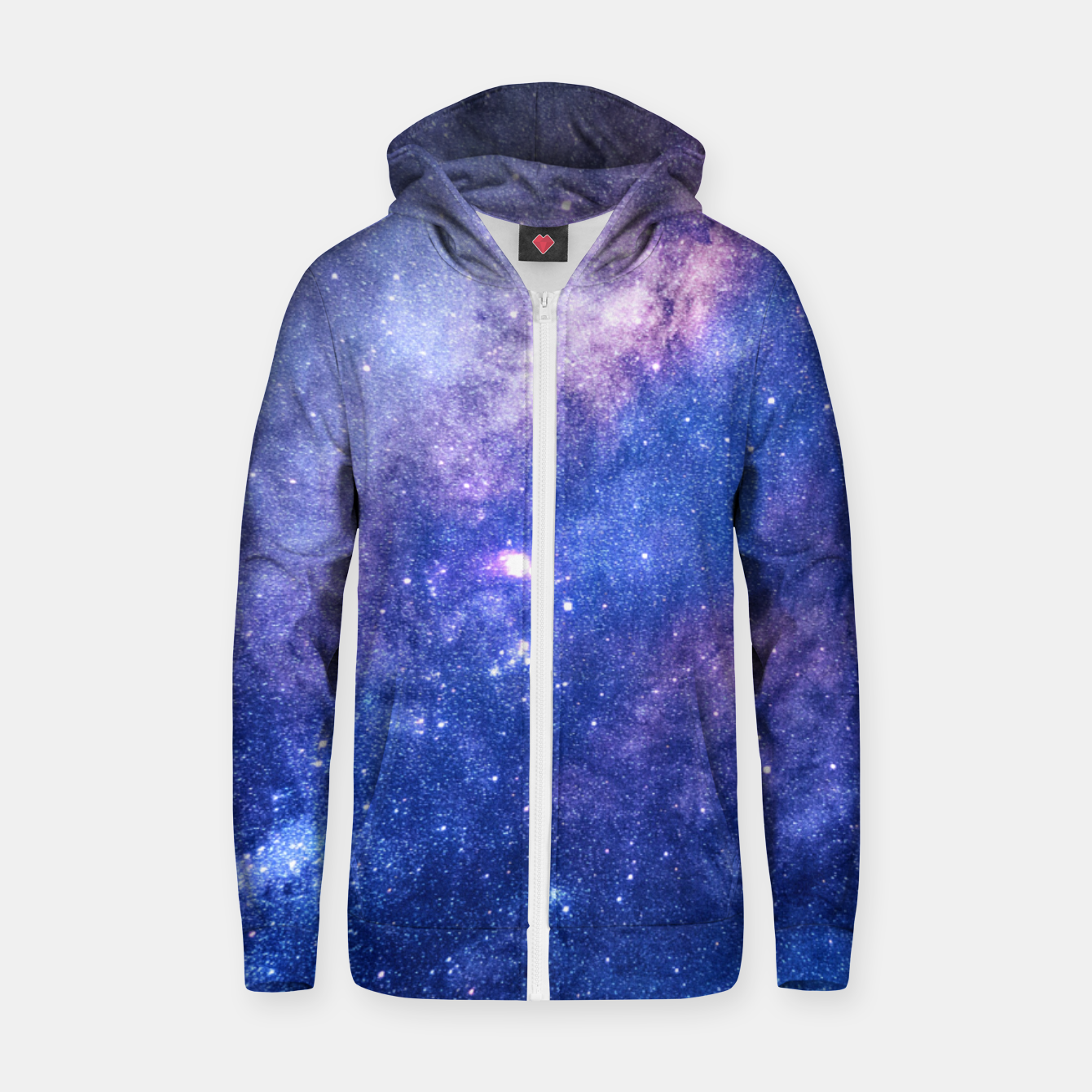 Image of Celestial Dream Zip up hoodie - Live Heroes
