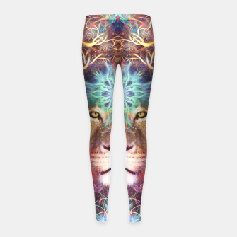 Genesis (Lion) Girl's leggings thumbnail image