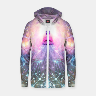 The Alchemist's Breath (Buddha) Zip up hoodie thumbnail image
