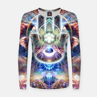 Thumbnail image of Divine Protection Women sweater, Live Heroes