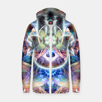 Thumbnail image of Divine Protection Zip up hoodie, Live Heroes