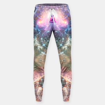 Thumbnail image of The Alchemist's Breath (Buddha) Sweatpants, Live Heroes