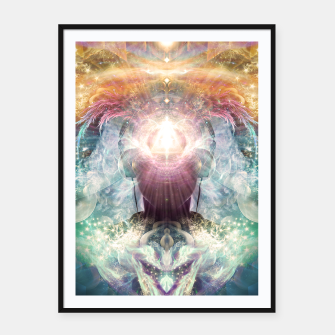 Thumbnail image of Celestial Vibrations Framed poster, Live Heroes