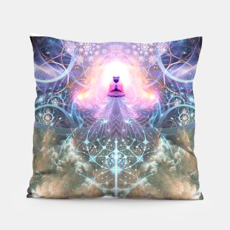 Thumbnail image of The Alchemist's Breath (Buddha) Pillow, Live Heroes