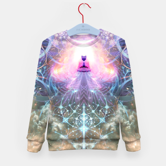 Thumbnail image of The Alchemist's Breath (Buddha) Kid's sweater, Live Heroes
