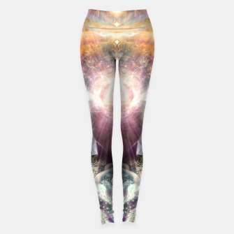 Thumbnail image of Celestial Vibrations Leggings, Live Heroes