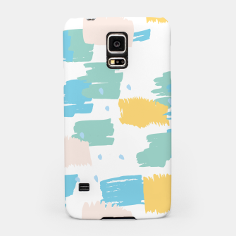 Pastel colors brushstrokes Samsung Case thumbnail image