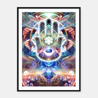 Thumbnail image of Divine Protection Framed poster, Live Heroes