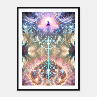 Thumbnail image of The Alchemist's Breath (Buddha) Framed poster, Live Heroes