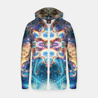 Thumbnail image of Polaris (North Star) Zip up hoodie, Live Heroes