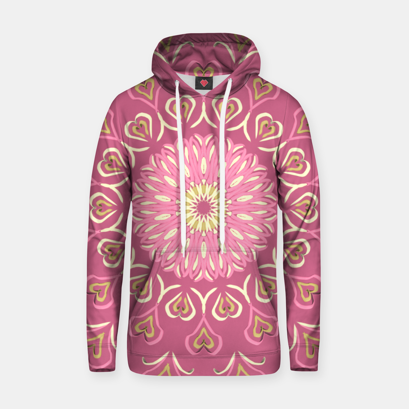 Image of My Valentine's Day Sudadera con capucha - Live Heroes
