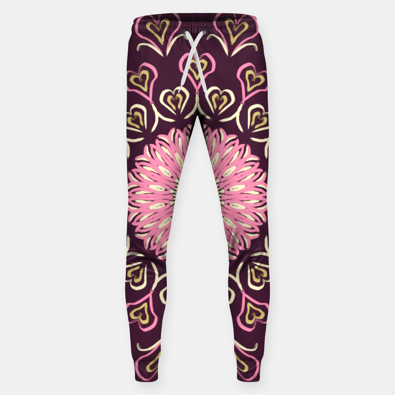 Image of My Valentine's Day (Flama) Pantalones de chándal  - Live Heroes