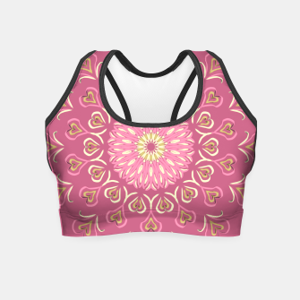 Miniature de image de My Valentine's Day Crop Top, Live Heroes