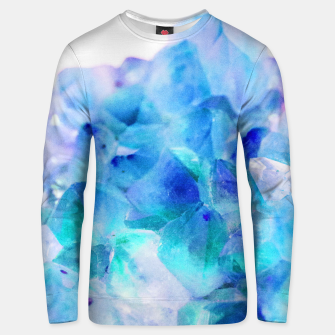 Iridescent Quartz Crystal #2 #gem #decor #art  Unisex sweatshirt thumbnail image