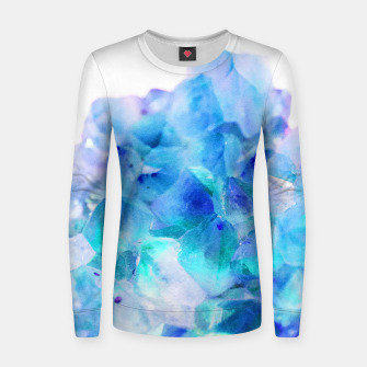 Iridescent Quartz Crystal #2 #gem #decor #art  Frauen sweatshirt thumbnail image