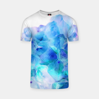 Iridescent Quartz Crystal #2 #gem #decor #art  T-Shirt thumbnail image