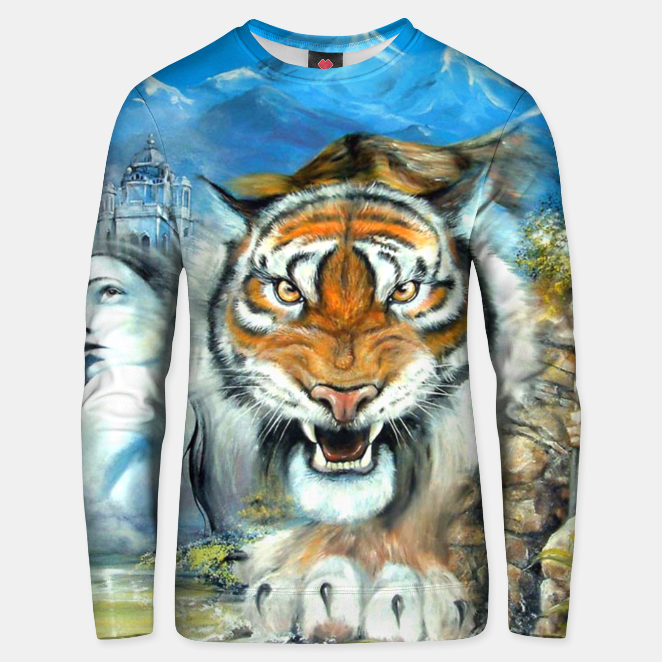 Image of Easy Tiger Unisex sweater - Live Heroes