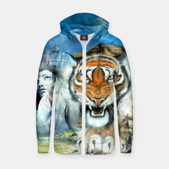 Easy Tiger Zip up hoodie thumbnail image