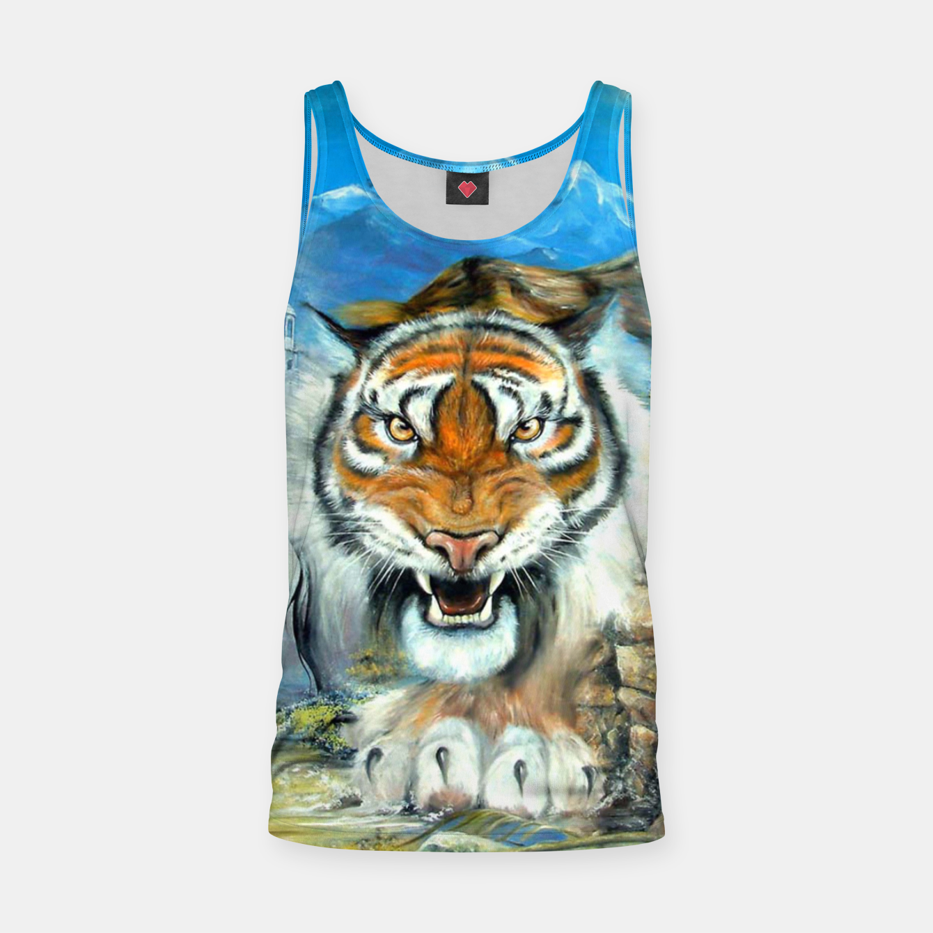 Image of Easy Tiger Tank Top - Live Heroes