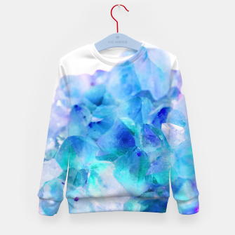 Iridescent Quartz Crystal #2 #gem #decor #art  Kindersweatshirt thumbnail image