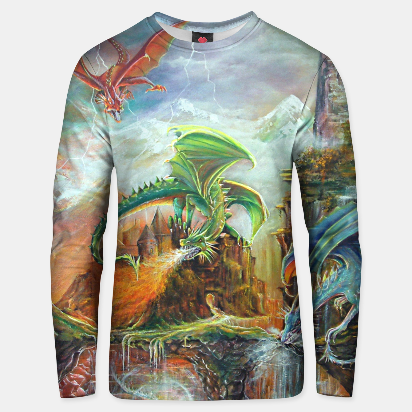 Image of An Al Nathrach Unisex sweater - Live Heroes