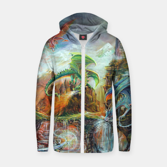 Thumbnail image of An Al Nathrach Zip up hoodie, Live Heroes
